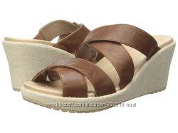 Босоножки Crocs A-Leigh Crisscross Wedge, W10