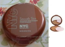 Бронзер NYC Smooth skin bronzing face powder оригинал куплено в США
