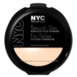 Пудра NYC Smooth Skin Pressed Face Powder оригинал, куплено в США