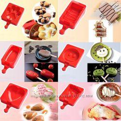 Силиконовые формы для сладостей на палочках