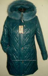 зимняя курточка 58р  с мехом песца, срочно