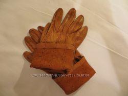Перчатки кожаные на размер 7 - 7, 5