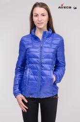 Осенняя демисезонная куртка утепленная Avecs с mobile bag