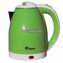 Электрочайник металл-пластик Domotec DT-806 2. 0л зеленый