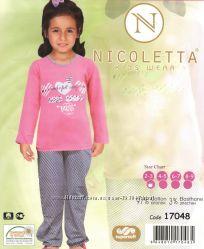 Пижама  для девочки 6-7,  8-9 лет