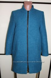 Актуальное пальто бойфренд бренда ZARA, Испания, размер S, на 42 р