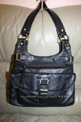 Фирменная сумка из натуральной кожи бренда F & F