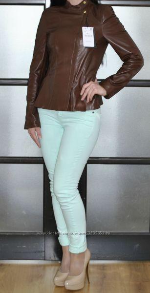 Кожаная куртка Zara. Оригинал размер S