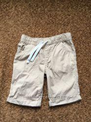 Продам хлопковые шорты F&F на 4-5 лет  104-110см