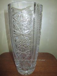 Кришталева ваза Чехія