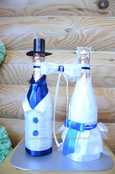 Декоративное шампанское ручной работы на Новый год, Свадьбу, День Рождения