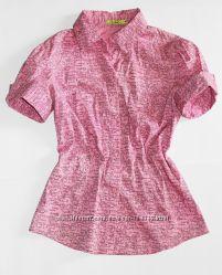 Рубашка Incity розовая с принтом