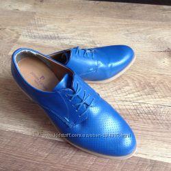 Туфли-оксфорды 36 разм 23 см по стельке кожа