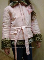 Стильная, гламурная курточка blumarine-трансформер, оригинал , 6-9 лет