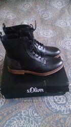 Отличные ботинки 39 р S. Oliver оригинал