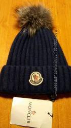 Moncler шапка бренд наличие