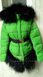 Moncler  пуховик плащ -куртка трансформер