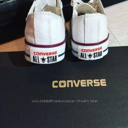кеды Converse конверсы белые