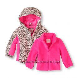 Куртка с флиской деми-зима, размер 12-18 мес.