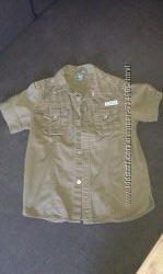 Рубашка H&M на мальчика 6-8 лет