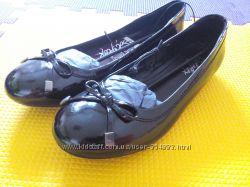 Кожанные туфли 39р