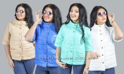 Мега-модные стильные женские куртки рукав 34 Выбор разн цветов и размеров