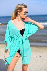 Шифоновые пляжные платья туники Выбор цветов