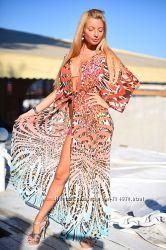 Пляжные туники платья парео Большой выбор разных цветов Размер уни 42-46