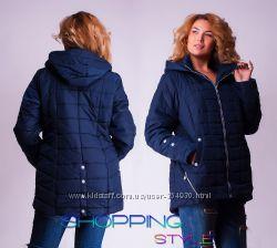 Стильные женские куртки Демисезон 2016 Разные цвета и размеры 52-54-56-58