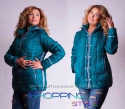 Куртки женские Деми Большие размеры Разные цвета Разм 52-58