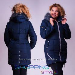 Женские куртки на все сезоны Выбор цветов и размеров 46-56