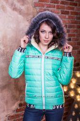 Теплые женские куртки на овчине Зима Выбор цвета и размера