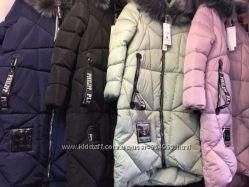 Теплые зимние женские куртки Выбор цвета и размера