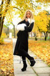 Очень красивые теплые женские пальто Выбор цвета и размера