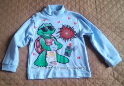 Новые водолазки, комплект, футболка мальчику