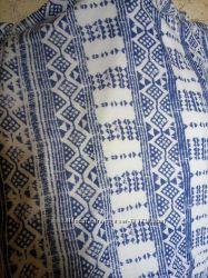 Трикотажный шарф хомут, снуд