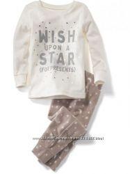 Пижама флисовая OLD NAVY 4года