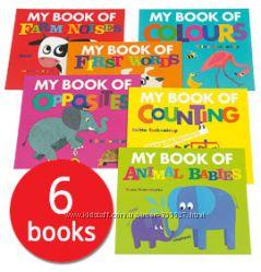 My Book of Collection, набор развивающих книжек для деток 3 года