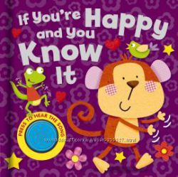 Song Sounds If You&acutere Happy and You Know It - музыкальная обучающая книжка