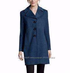фирмен демисез шерстяное пальто LARRY LEVINE из США р. 46  6-S-USA
