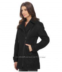VINCE CAMUTO Moto Wool Coat Boyfriend фирмен шерстян пальто из США р. 46 М
