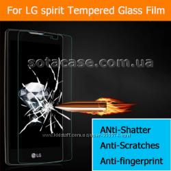 Новое защитное противоударное стекло для LG Spirit H422