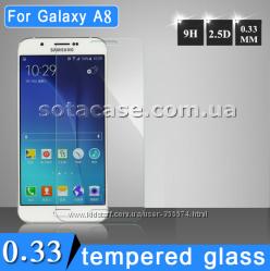 Новое защитное стекло для Samsung Galaxy A8