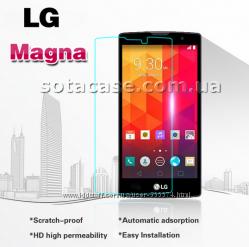 Новое оригинальное защитное стекло для LG Magna Y90 H502  H502F