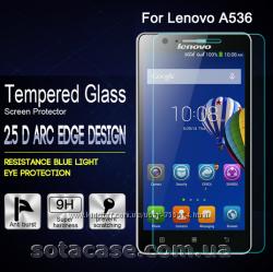Новое оригинальное защитное стекло для Lenovo A536