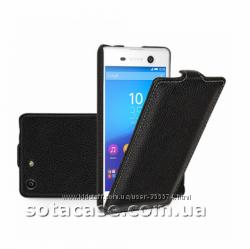 Кожаный чехол на Sony Xperia M5 Dual E5633 E5663