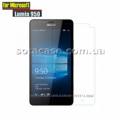 Новое защитное стекло на Microsoft Lumia 950