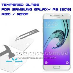 Новое защитное стекло для Samsung Galaxy A3 A310 A310F 2016
