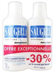 Средство для ежедневной интимной гигиены с экстрактом шалфея Saugella Dermo