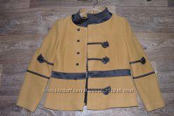 Пиджак, укороченное пальто драповое размер 48